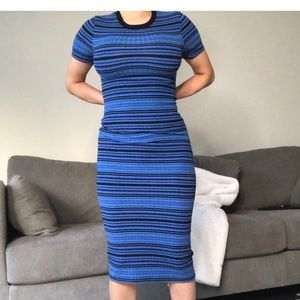 Top shop midi dress